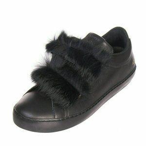 Leather Crown Atitud Handmade Italy Black Sneakers